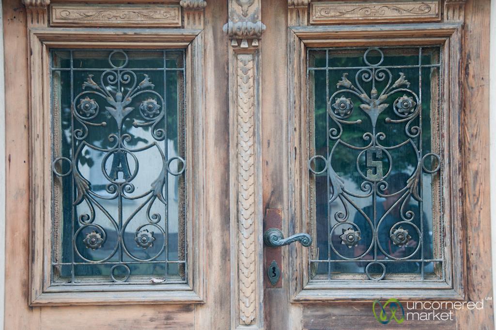 Doors with Audrey's Initials - Berlin