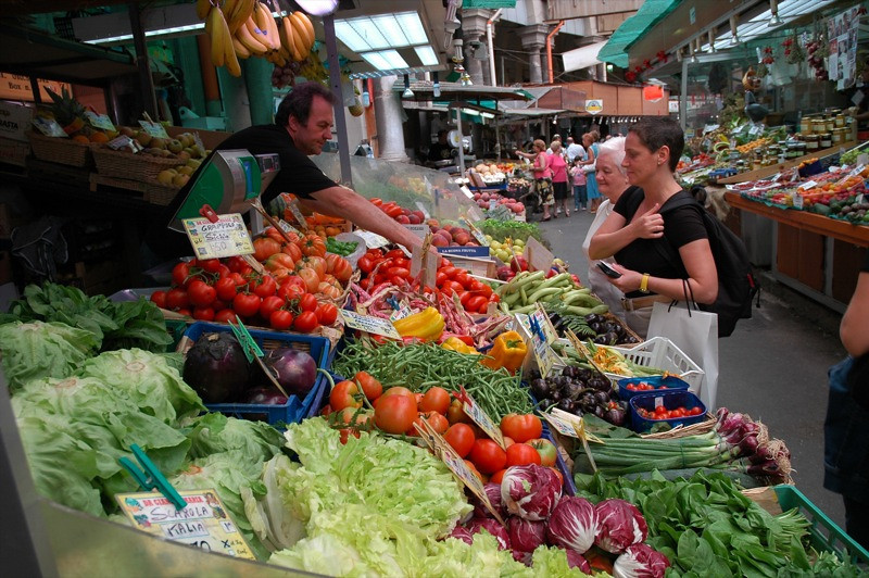 Vegetable Market - Bologna, Italy