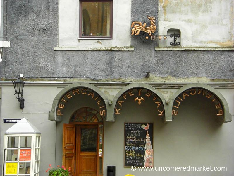 Riga Restaurant - Latvia