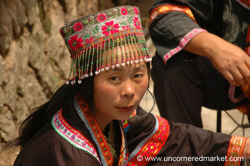 Ethnic Woman, Chong'an Market - Guizhou Province, China