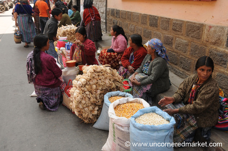 Totonicapan Market Vendors, Guatemala