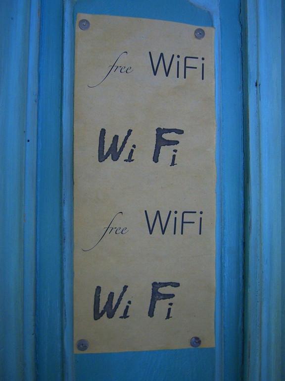 WiFi Sign - Tbilisi, Georgia