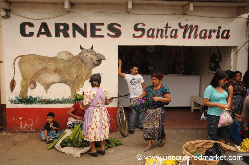 Meat Market - Antigua, Guatemala