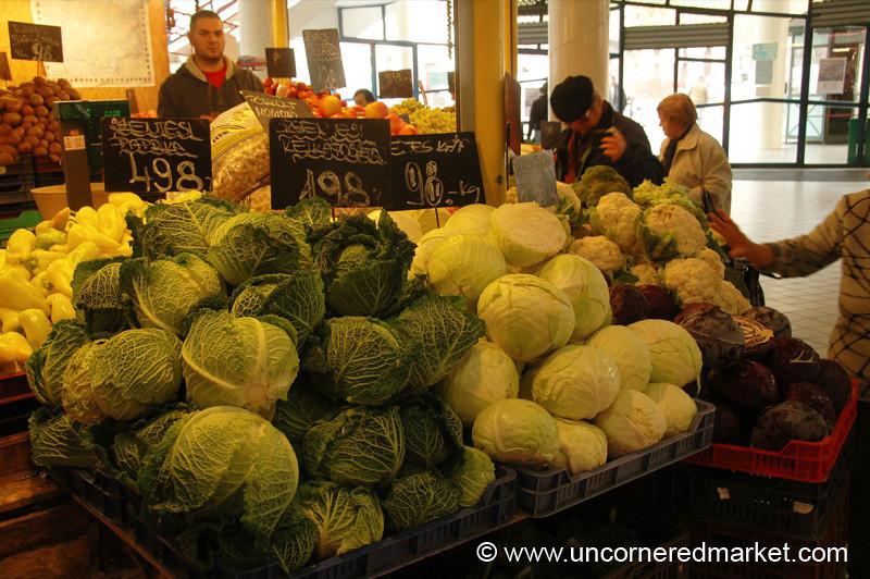Cabbage Season, Lehel Market - Budapest, Hungary