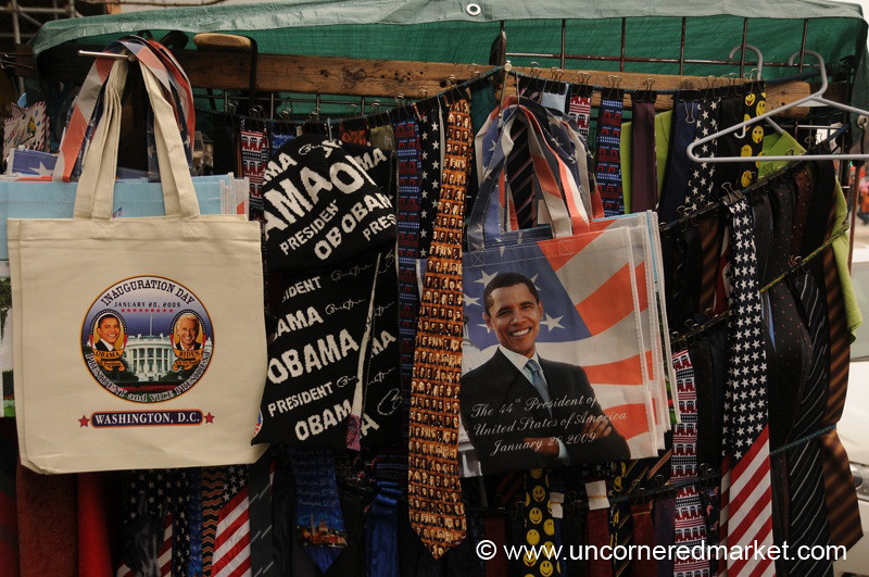 Inauguration Day Paraphernalia - Washington DC, USA