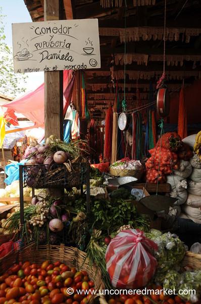 Main Market of Copan Ruinas, Honduras