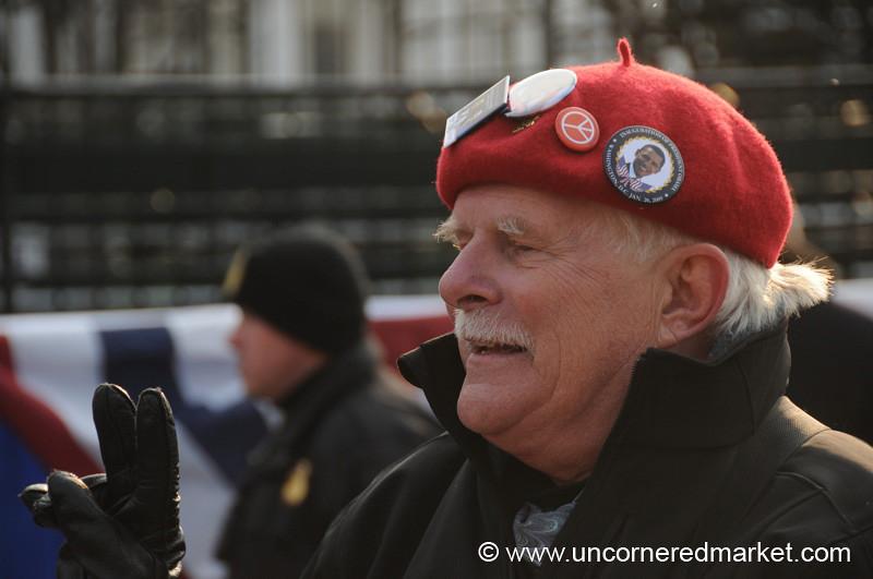 Man with a Beret - Washington DC, USA