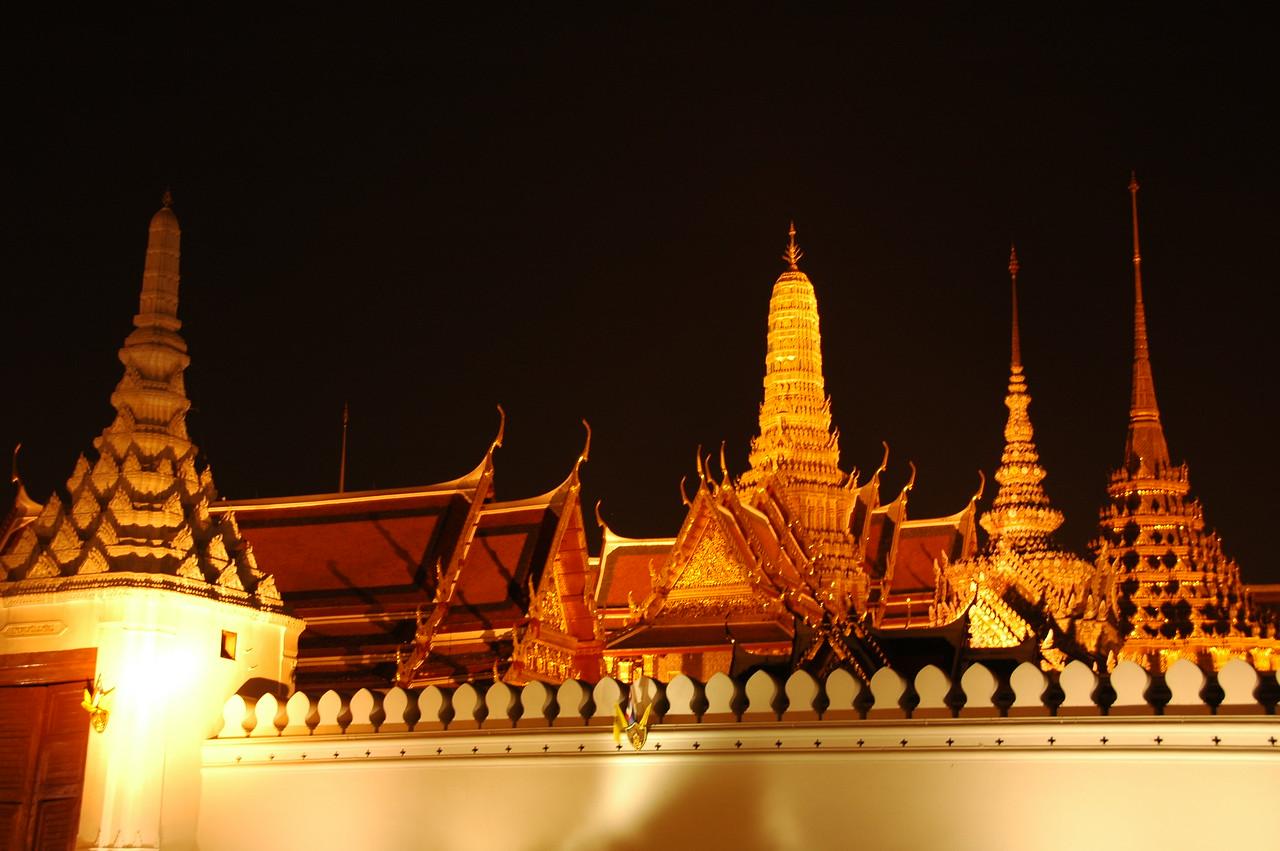 Grand Palace at Night - Bangkok, Thailand