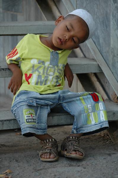 Sleepy Boy - Shakhrisabz, Uzbekistan