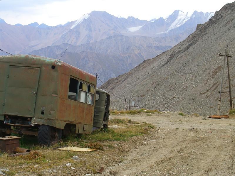 Kosmostansia Abandoned Bus - Almaty, Kazakhstan