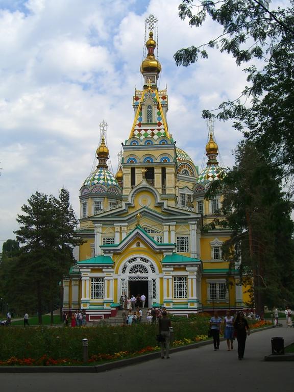 Zenkov Cathedral - Almaty, Kazakhstan