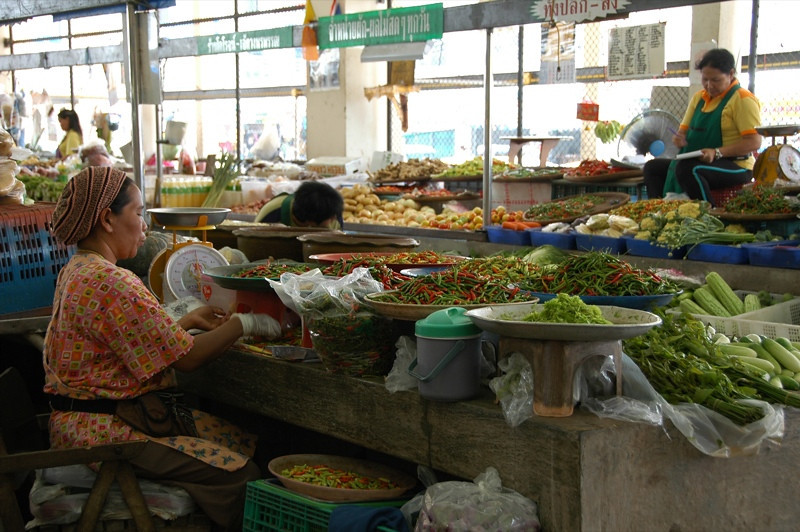 Chili Pepper Vendor - Krabi, Thailand