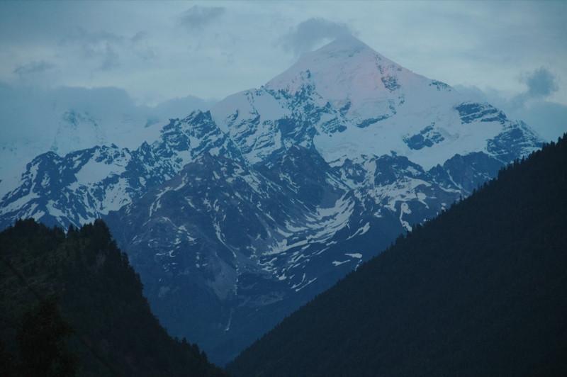 Peaks Reaching the Clouds - Svaneti, Georgia