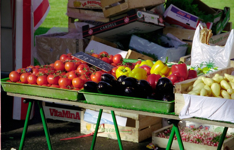 Vegetable Stand - Ferney-Voltaire, France