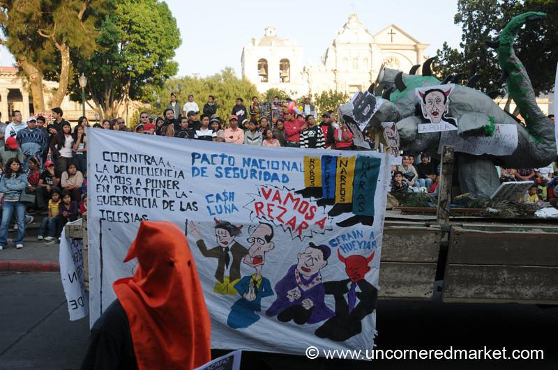 Student Protests - Xela, Guatemala