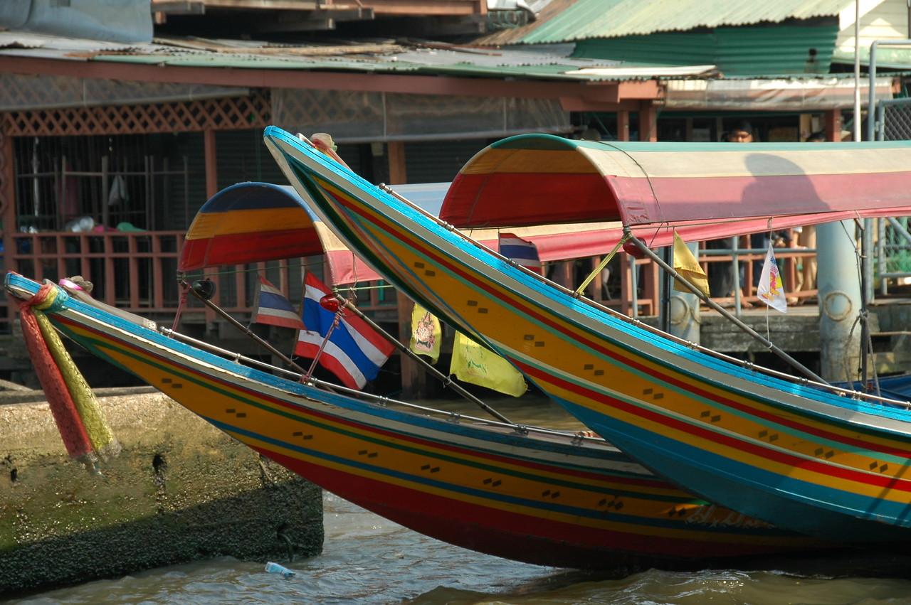 Riverboats on the Chao Phraya - Bangkok, Thailand
