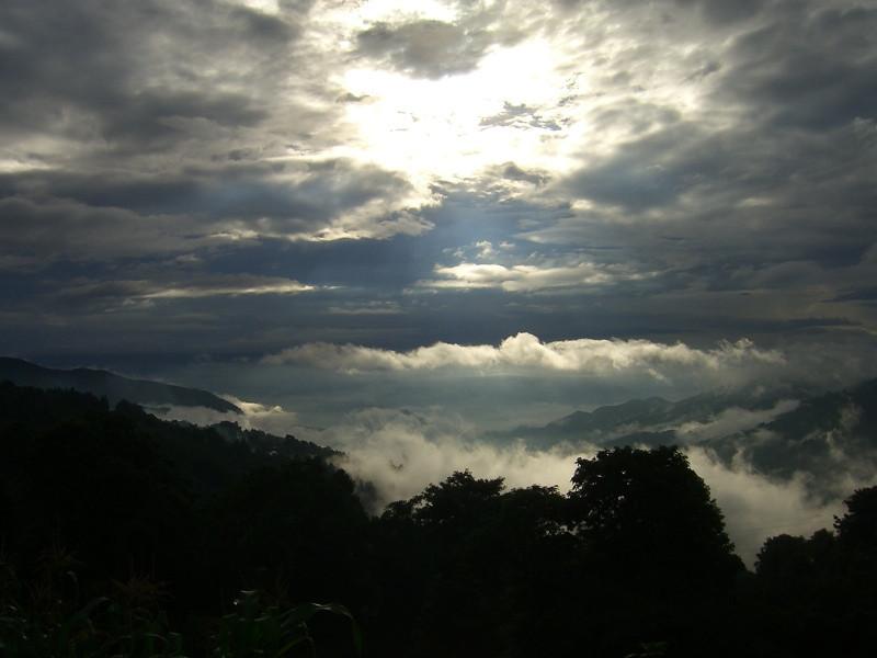 Sunrise Over Yuanyang - Yunnan, China