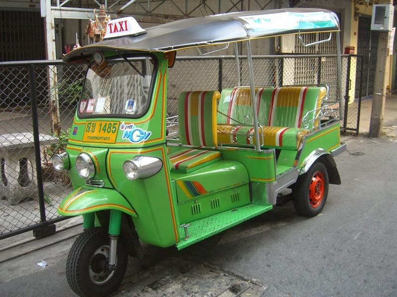 Green Tuk-Tuk - Bangkok, Thailand