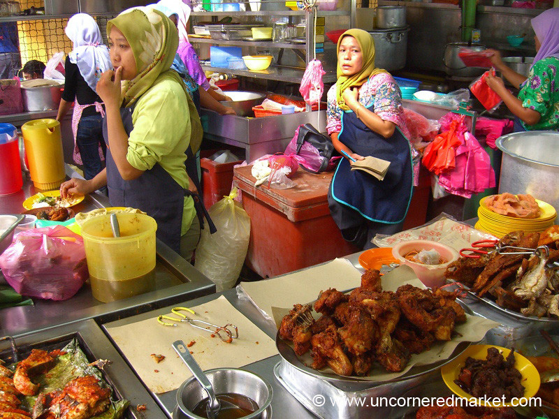 Malaysian Food Court - Kuala Lumpur, Malaysia