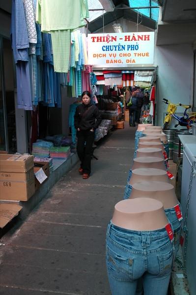 Vietnamese Market - Malesice, Prague