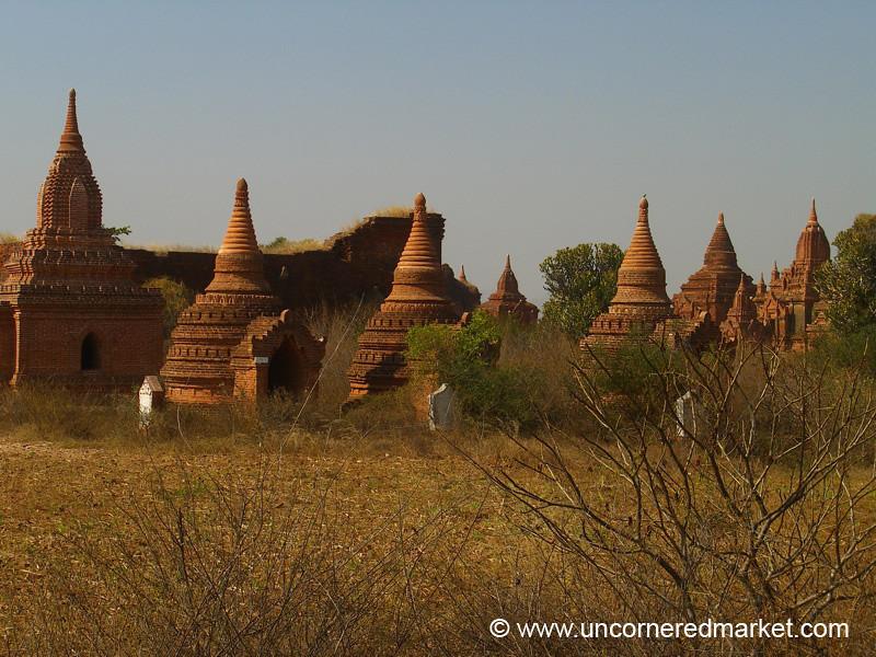 Stupas and Pagodas - Bagan, Burma