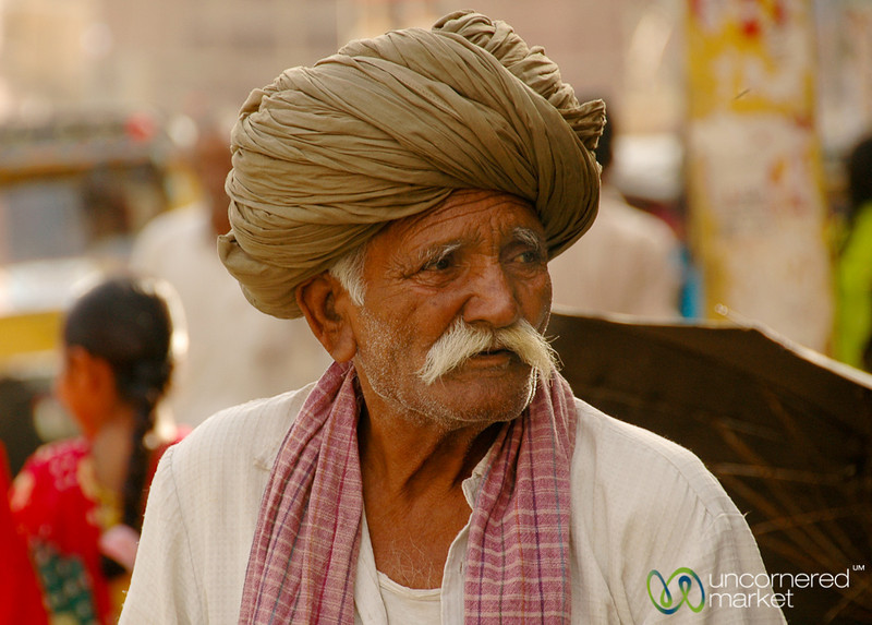 Older Man in Bikaner, India