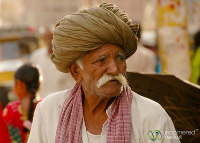 Older Man in Bikaner, India