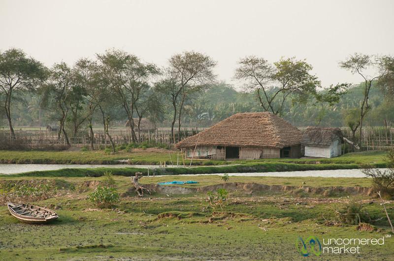 Village Scene Outside Khulna, Bangladesh