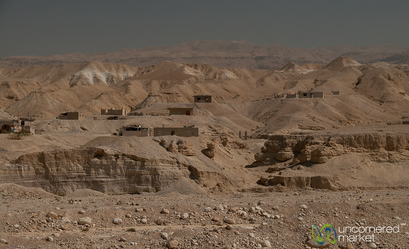 Houses Along the Horizon - Dead Sea Area, Jordan
