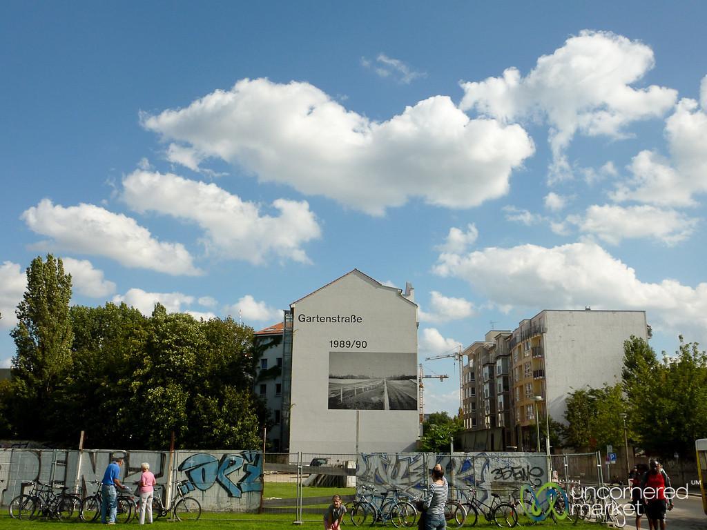 Berlin Wall at Gartenstrasse - Berlin