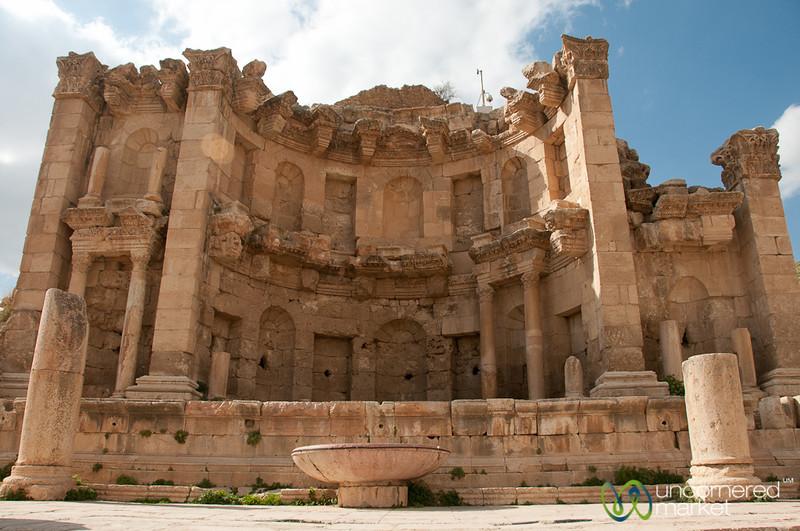 Nymphaeum in Ancient Jerash, Jordan