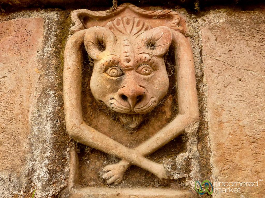Cat-Like Terracotta Tile - Paharpur, Bangladesh