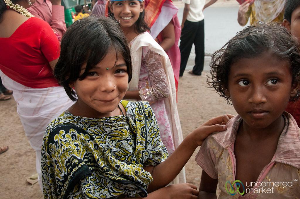Girls at Bangla New Year's Celebration - Rangamati, Bangladesh