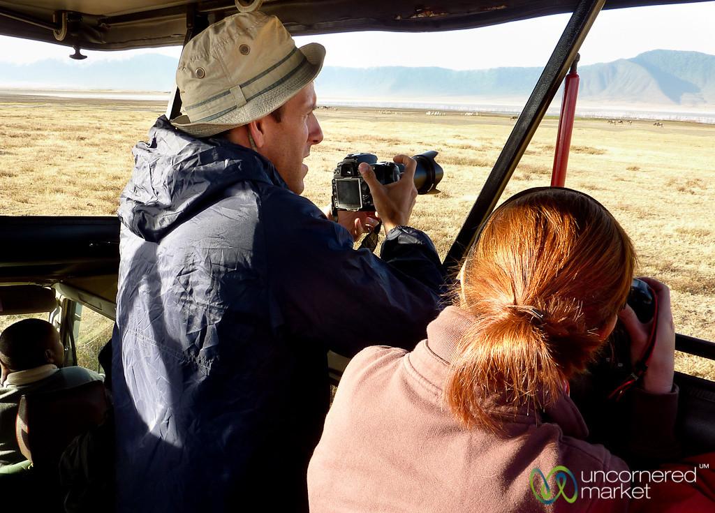 On Safari in NgoroNgoro Crater - Tanzania