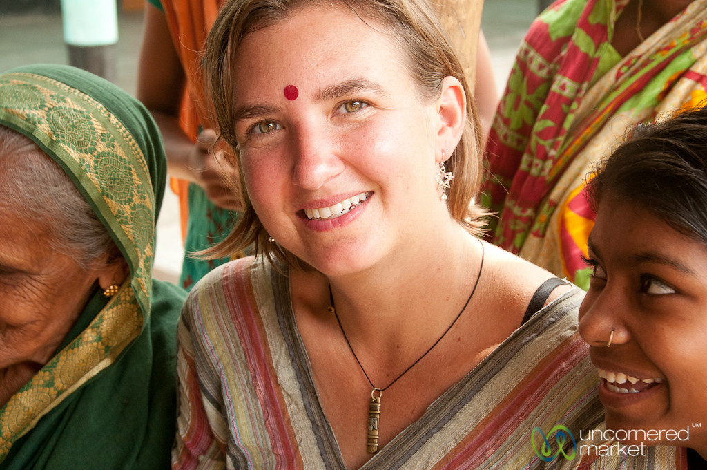 Audrey with Bindhi (Forehead Decoration) - Hatiandha, Bangladesh