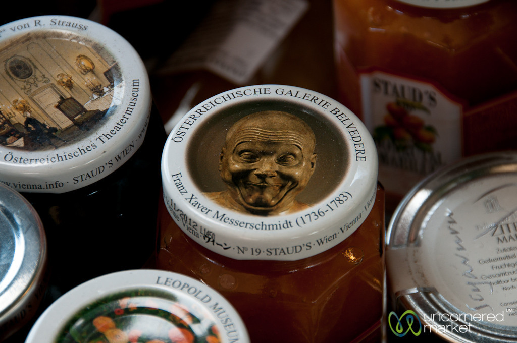 Artistic Tops for Jams and Preserves - Vienna, Austria