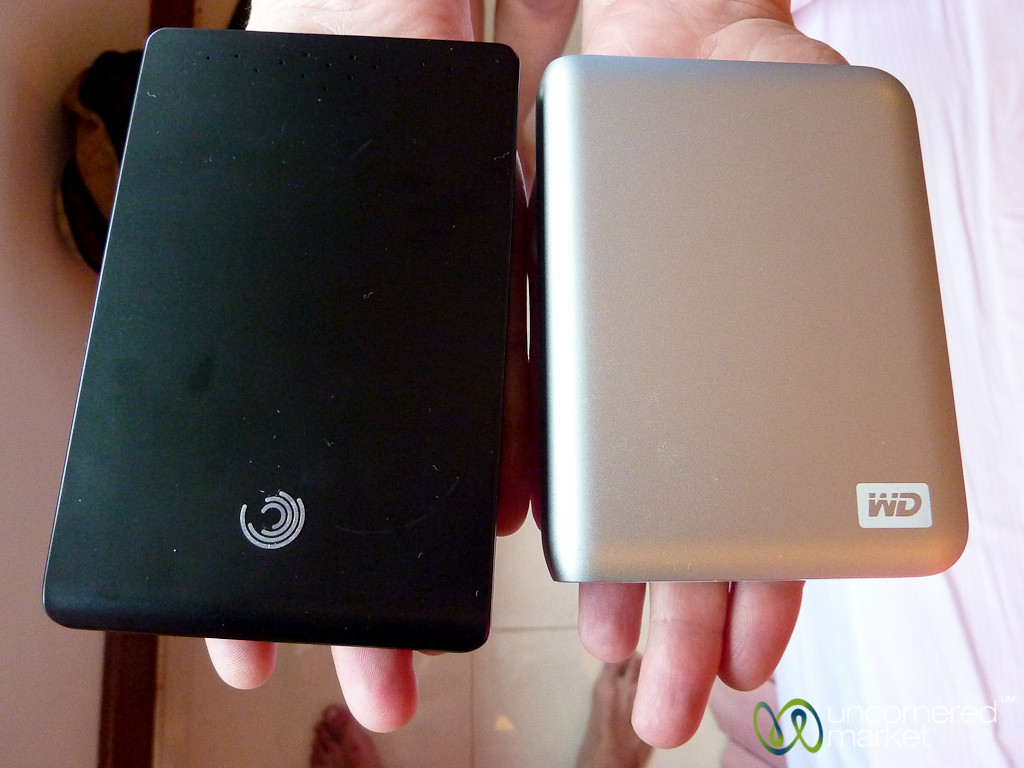 2 TB in My Hands - Portable External Hard Drives