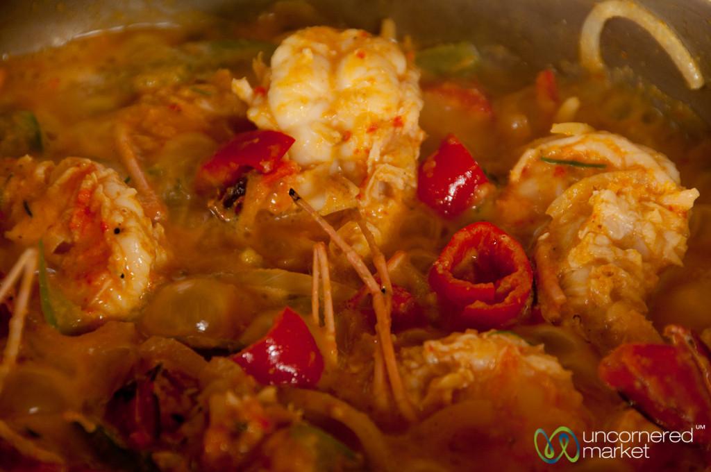 Shrimp in a Hot Sambal Sauce - Bali, Indonesia