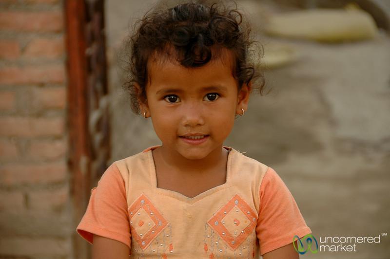 Breaking a Smile - Boudhanath, Nepal