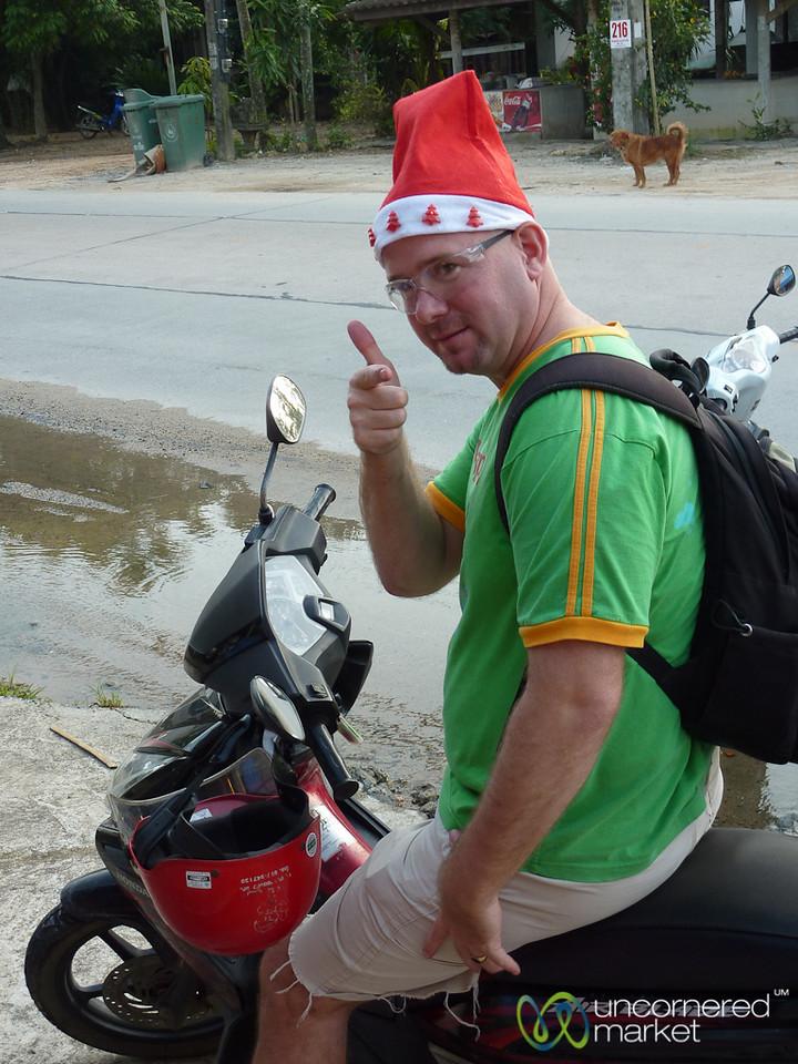 Santa Tony on Koh Samui - Thailand