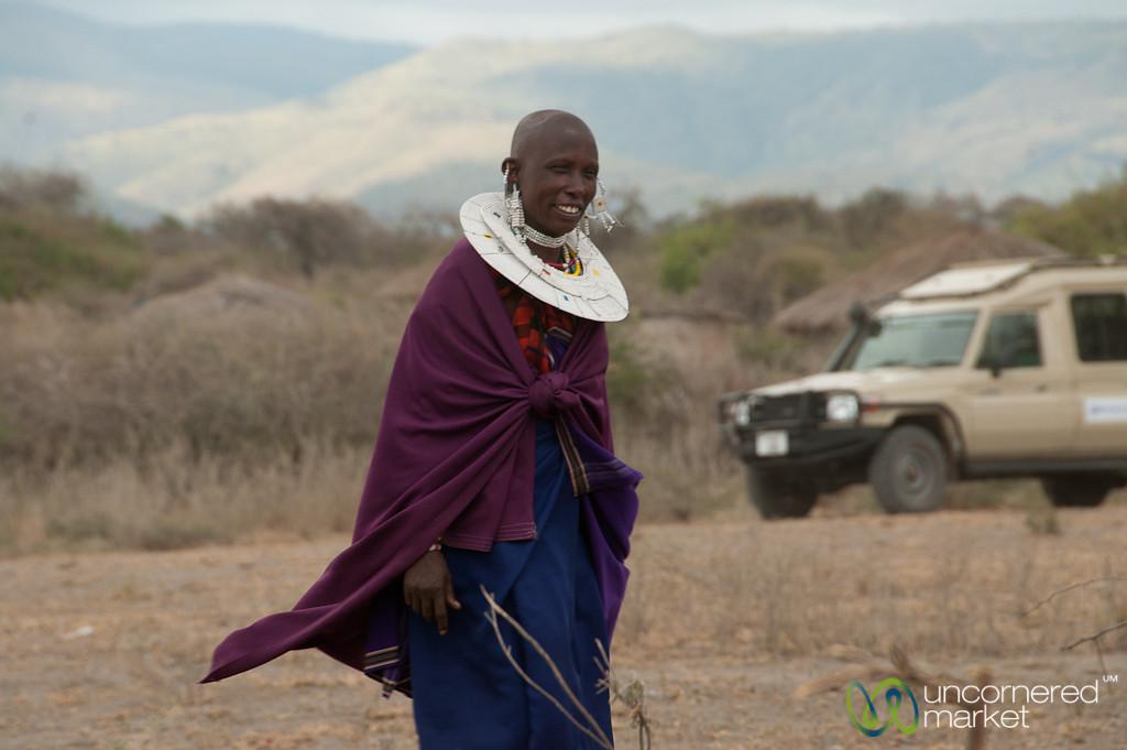 Masai Woman - Lake Manyara, Tanzania