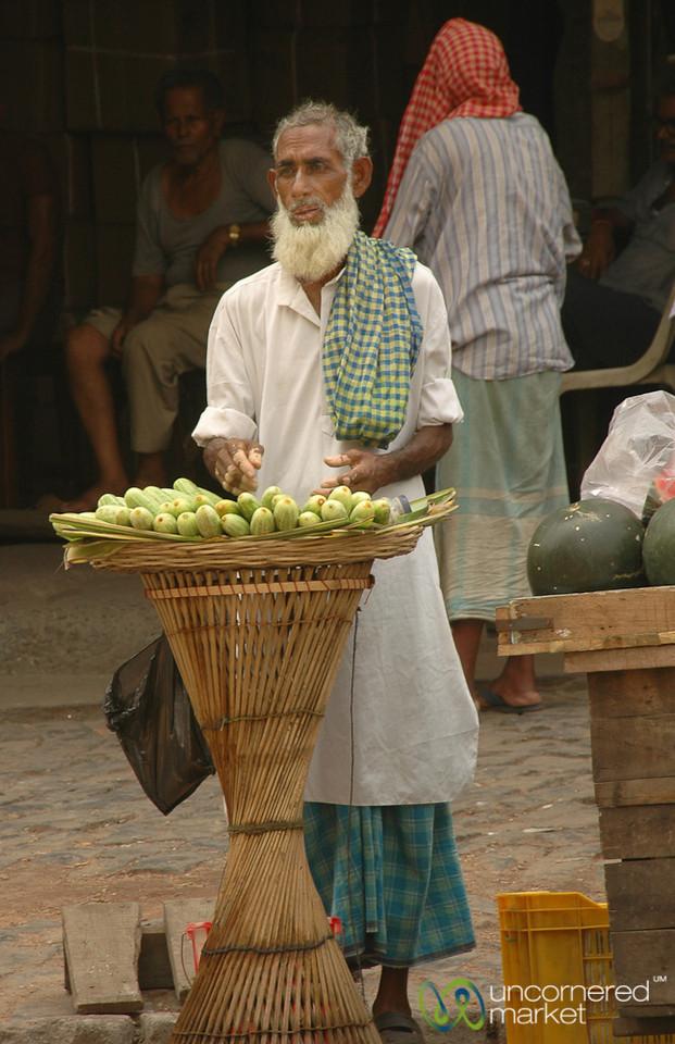Cucumber Salesman - Kolkata, India