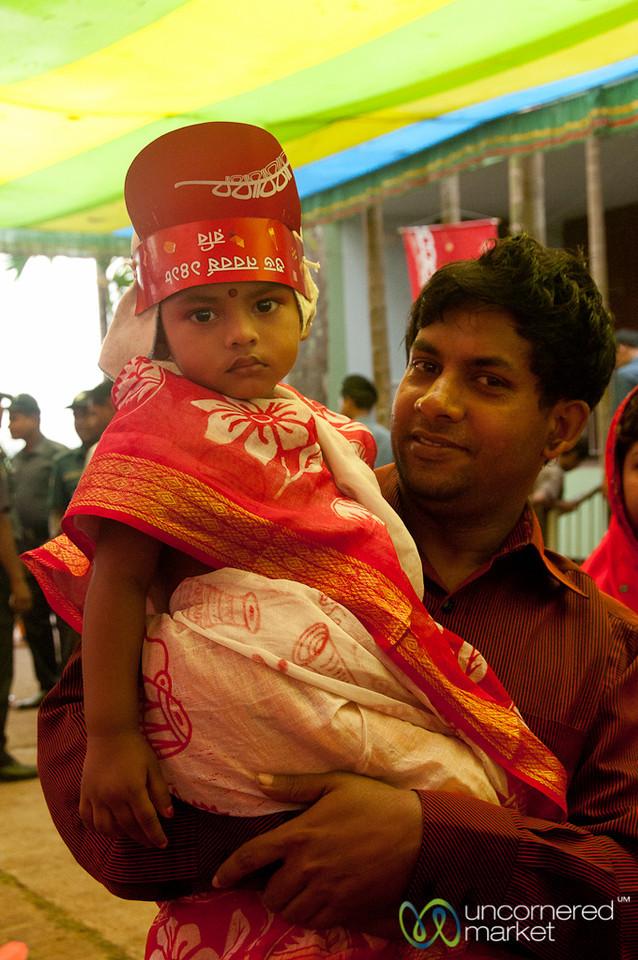 Father and Daughter - Rangamati, Bangladesh