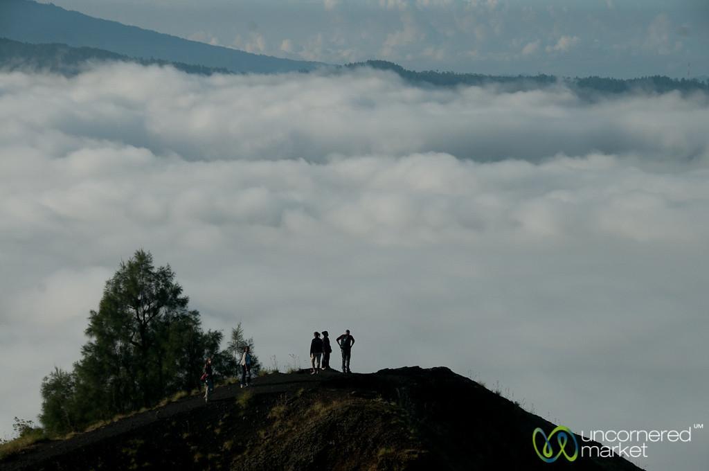 Hiking Above the Clouds - Mt. Batur, Bali