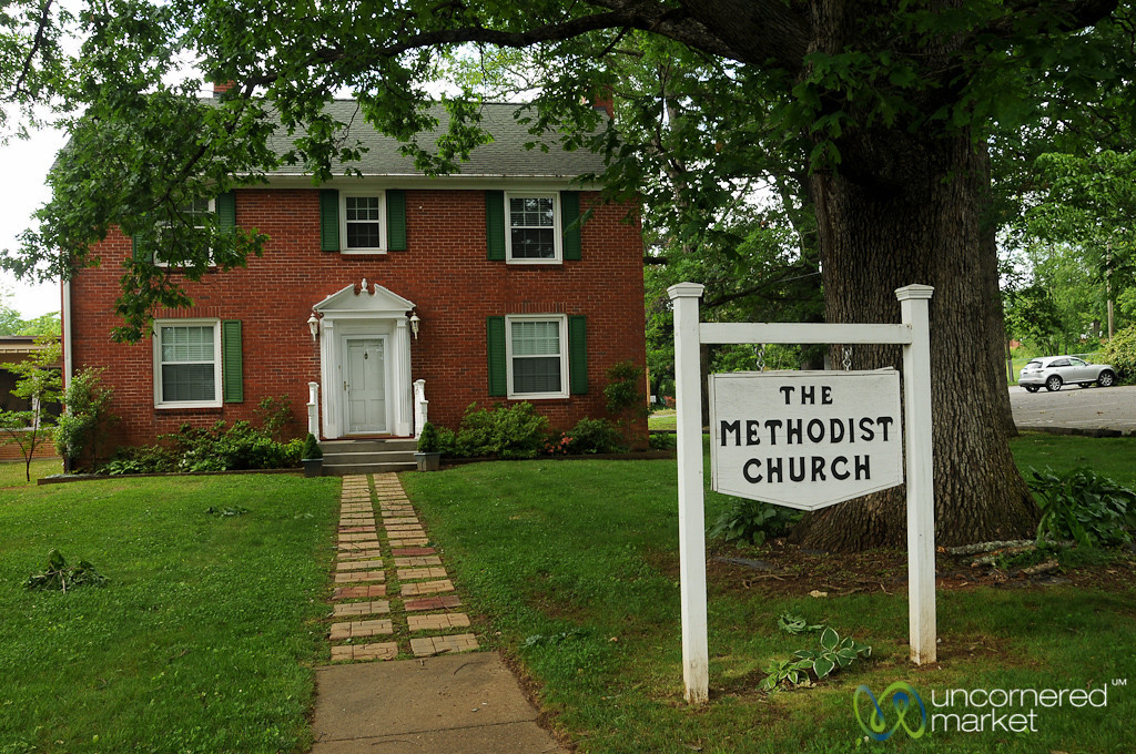 Cute Little Methodist Church of Black Mountain, North Carolina