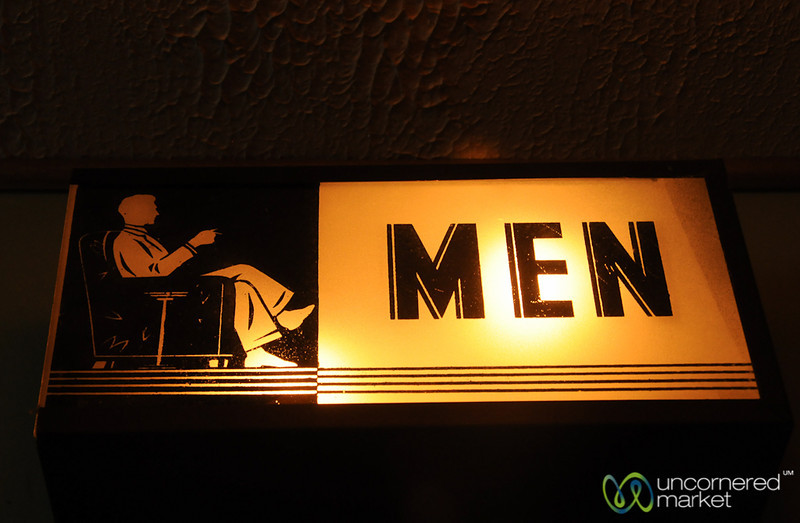 Men's Room in Milford, PA
