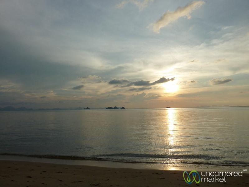Sun Sets at Koh Samui, Thailand