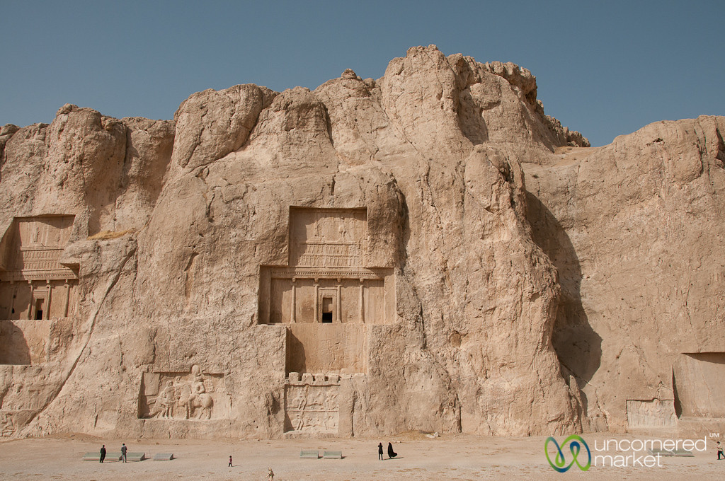 Royal Tombs at Naqsh-e_Rustam - Persepolis, Iran