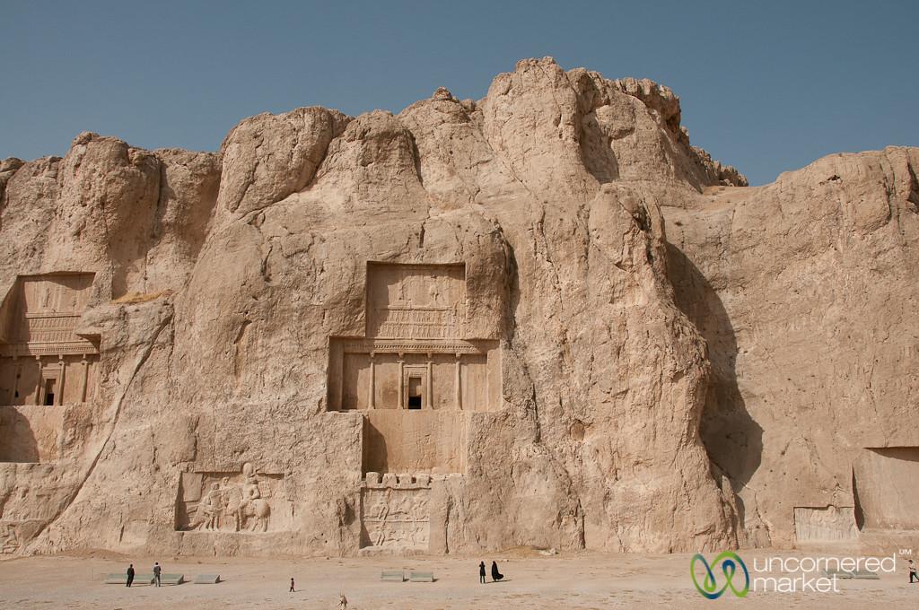 Royal Tombs at Naqsh-e_Rustam - Persepolis, Iran