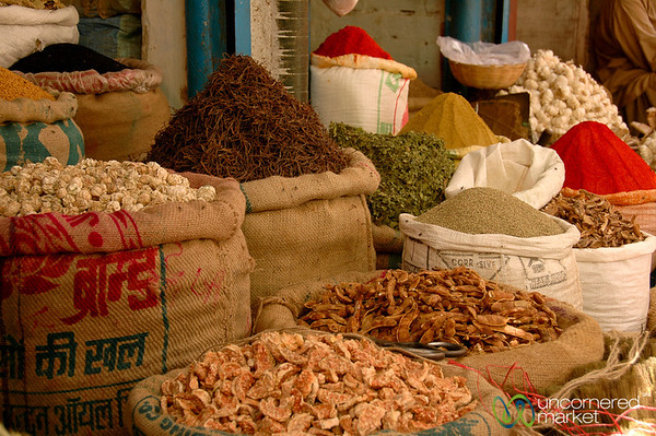 Dried Goods Stand - Bikaner, India
